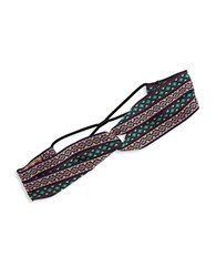 Design Lab Lord And Taylor Ribbon Stretch Headband Multi Colored