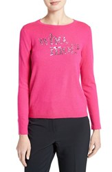 Kate Spade Women's New York Who Moi Sequin Wool Blend Sweater