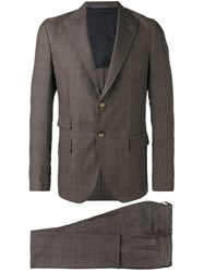 Eleventy Abi Two Piece Suit Brown