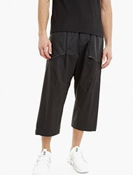 Y 3 Black Military Space Trousers