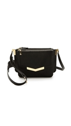 Time's Arrow Gongola Serpent Mini Trilogy Bag Black