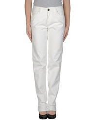 Mauro Grifoni Denim Pants White