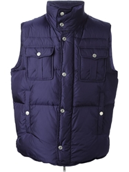 Dsquared2 Sleeveless Padded Jacket Blue