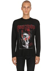 The Kooples Horror Light Modal And Cashmere T Shirt Black