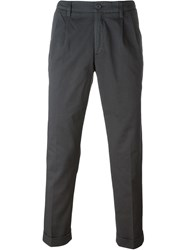 Aspesi Classic Chino Trousers Grey