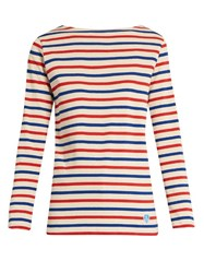Orcival Breton Striped Cotton Top Multi