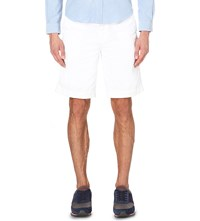 Ralph Lauren Relaxed Fit Rugged Cotton Shorts White
