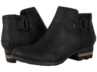 Sorel Lolla Ankle Black Women's Waterproof Boots