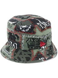 Ktz New Era Monster Bucket Hat Green