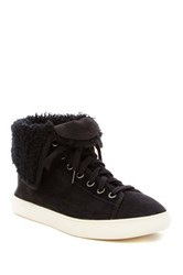Cole Haan Raven Genuine Sheep Shearling Sneaker Black