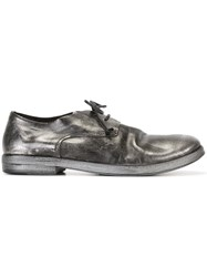 Marsell Marsa Ll Metallic Lace Up Shoes Black