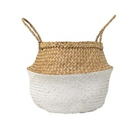 Bloomingville Neutral White Basket
