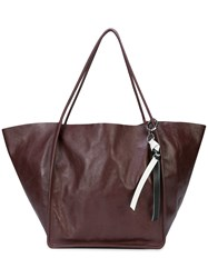 Proenza Schouler Extra Large Tote Pink And Purple