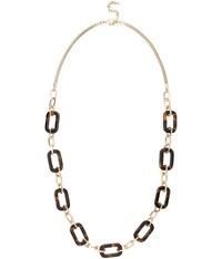 Viyella Long Tortoiseshell Chain Necklace
