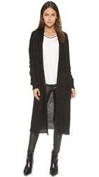 Elizabeth And James Maxi Cardigan Black