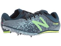 New Balance Md500v5 Middle Distance Spike Grey Yellow Men's Shoes Gray