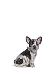 Judith Leiber 'French Bulldog Fred' Crystal Pave Minaudiere Multi Colour