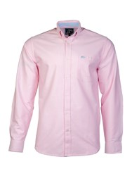 Raging Bull L S Signature Oxford Shirt Pink