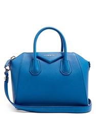 Givenchy Antigona Small Leather Tote Blue