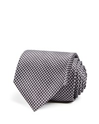 Bloomingdale's The Men's Store At Circle Link Solid Classic Tie Black