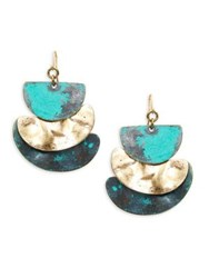 Design Lab Lord And Taylor Assorted Half Moon Earrings