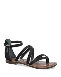 Sam Edelman Flat Strappy Thong Sandals Gilroy