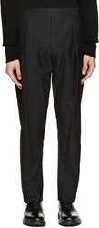 Lemaire Black Twill Trousers