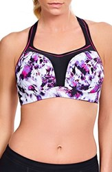 Panache 'S Underwire Sports Bra Painterly Print