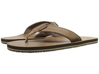 Scott Hawaii Pahoe Brown Men's Sandals