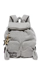 See By Chloe Joy Rider Backpack Grey Melange