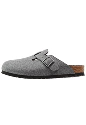 Birkenstock Boston Slippers Grey