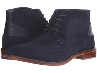 Ted Baker Pericop 2 Dark Blue Black Suede Men's Lace Up Boots
