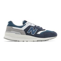 New Balance Navy And Blue 997H Sneakers