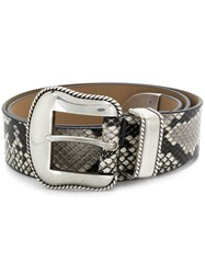 B Low The Belt Villain Python Neutrals