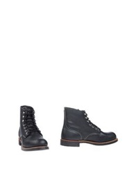 Red Wing Shoes Ankle Boots Black