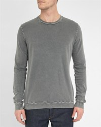 American Vintage Grey Acid Washed Sweatshirt