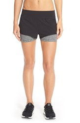 The North Face Women's 'Dynamix' Stretch Shorts Tnf Black Asphalt