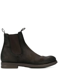 Officine Creative Distressed Chelsea Boots Brown