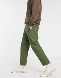 Obey Straggler Carpenter Iii Pant In Army Green