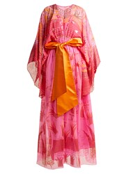 Zandra Rhodes Archive Ii The 1973 Field Of Lilies Gown Fuchsia