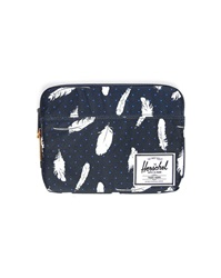 Herschel Black And White Feather Anchor Ipad Cover