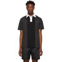 Saturdays Surf Nyc Black Jake Polo Charcoal