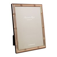 Addison Ross Bamboo Photo Frame Rose Gold 4X6 Pink