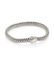 John Hardy Classic Chain Small Hammered Silver Chain Bracelet