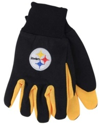 Forever Collectibles Pittsburgh Steelers Palm Gloves