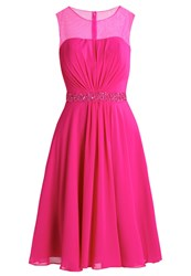 Mascara Cocktail Dress Party Dress Magenta Pink