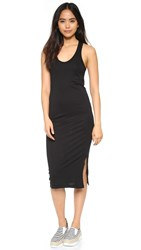 Cotton Citizen The Mykonos Midi Dress Jet Black