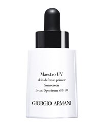 Giorgio Armani Maestro Uv Skin Defense Primer Sunscreen Spf 50 1 Oz.