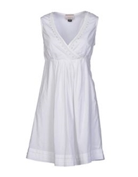 Vintage 55 Short Dresses White