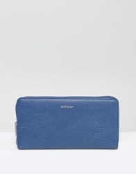 Matt And Nat Zip Around Wallet Royal Blue
